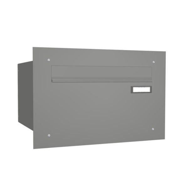 Mauerdurchwurf Briefkasten groß grau EG3