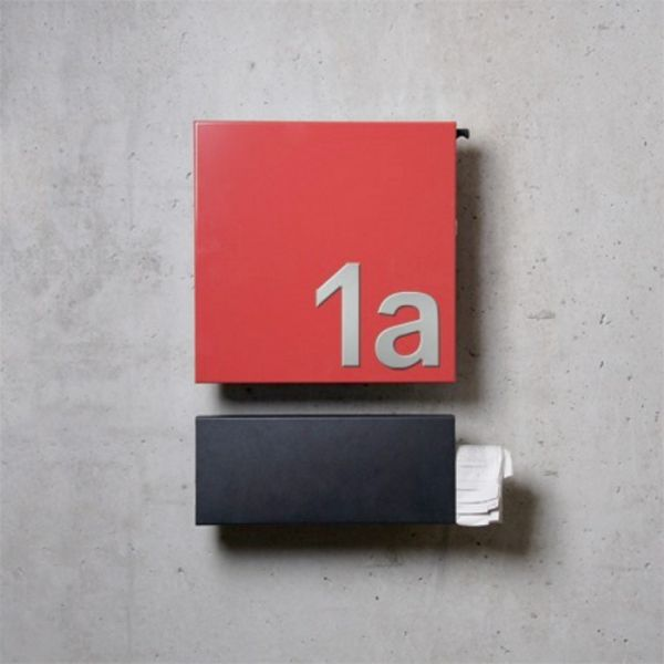 Serafini Design Briefkasten Square