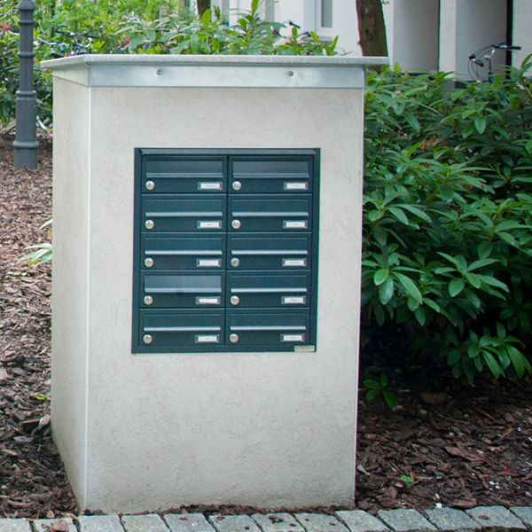 Unterputz Briefkastenanlage UP2 lackiert
