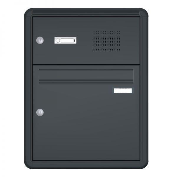 Knobloch Unterputz Briefkastenanlage mit Sprechanlage UP11