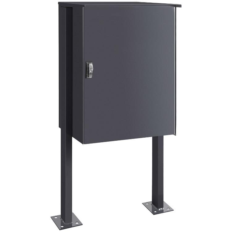 p13 knobox stand paketkasten gro anthrazitgrau schmitt smartes wohnen. Black Bedroom Furniture Sets. Home Design Ideas