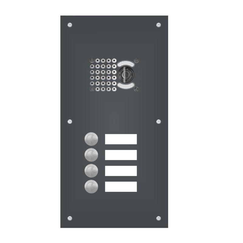 klingelanlage mit kamera ka1 f r mehrfamilienhaus schmitt smartes wohnen. Black Bedroom Furniture Sets. Home Design Ideas