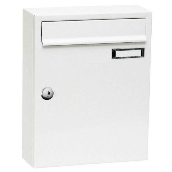 Knobloch Aufputz-Briefkastenanlage S50BATT weiß