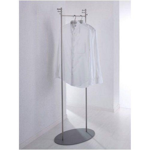 Kleiderständer Edelstahl Design phos garderobenständer kleiderständer edelstahl twin1