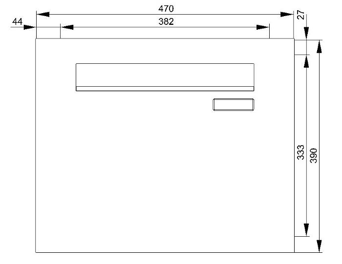 z9 zaunbriefkasten f r stabmattenzaun lackiert entnahme hinten schmitt smartes wohnen. Black Bedroom Furniture Sets. Home Design Ideas
