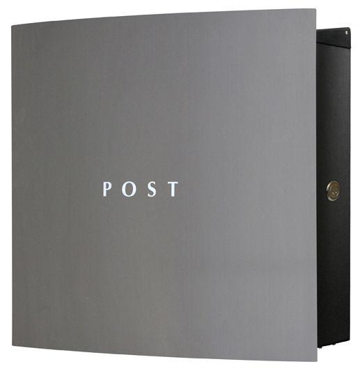 Knobloch Design Briefkasten BONN Edelstahl