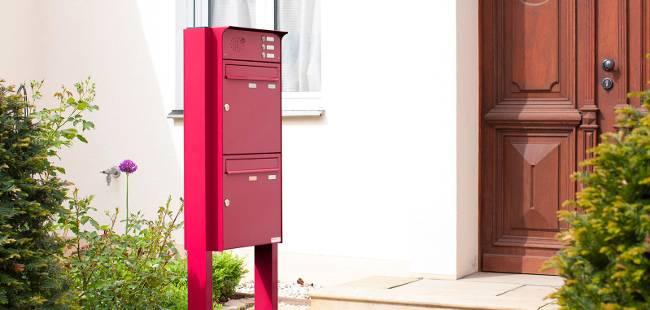Briefkastenanlage aus Edelstahl für Mehrfamilienhäuser | schmitt ...