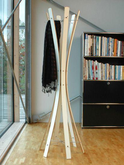 keilbach Designer Garderobe Edelstahl naomi