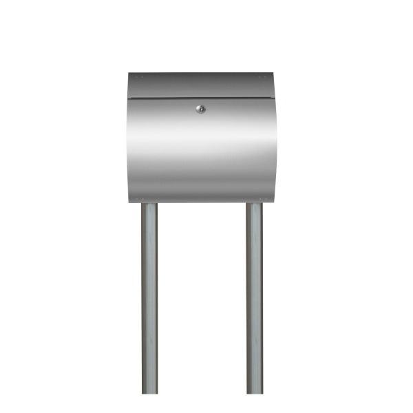 Design Standbriefkasten Edelstahl SE13