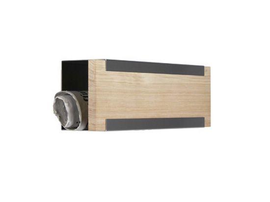 keilbach Design Zeitungsrolle newsbox wood Edelstahl