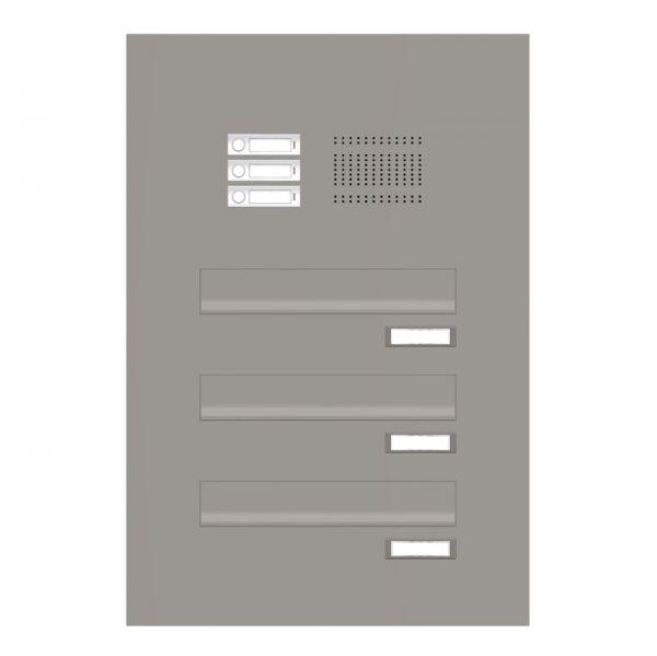 Türseitenteil Briefkastenanlage mit Klingel TB2