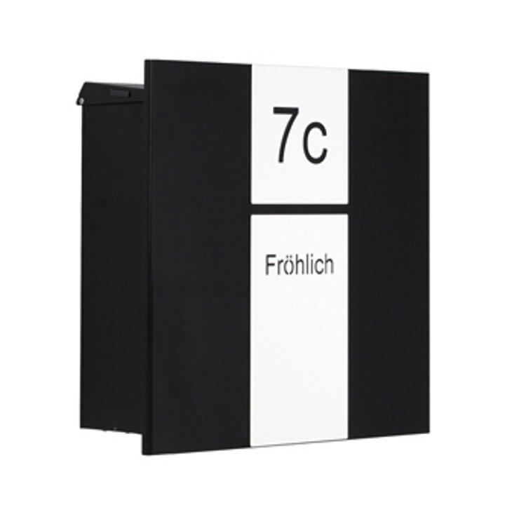 knobloch zaunbriefkasten berlin edelstahl entnahme hinten schmitt smartes wohnen. Black Bedroom Furniture Sets. Home Design Ideas