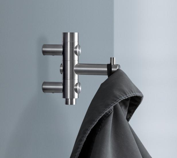 garderobenhaken edelstahl. Black Bedroom Furniture Sets. Home Design Ideas