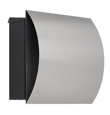 design knobloch briefkasten edelstahl mit zeitungsfach vegas preiswert online kaufen schmitt. Black Bedroom Furniture Sets. Home Design Ideas