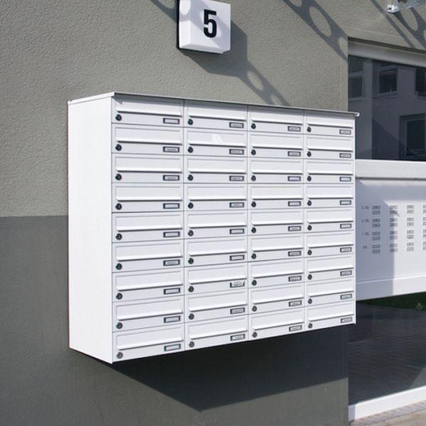 Aufputz Briefkastenanlage AP1 lackiert