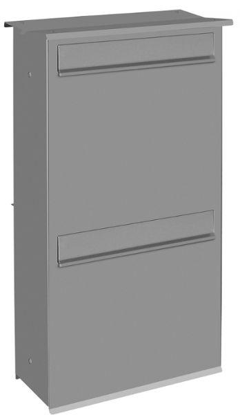 dz8 2fach zaunbriefkasten entnahme hinten schmitt smartes wohnen. Black Bedroom Furniture Sets. Home Design Ideas