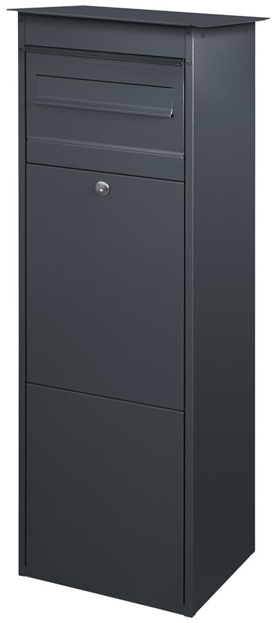 paketbriefkasten jasper mit briefkasten schmitt smartes wohnen. Black Bedroom Furniture Sets. Home Design Ideas