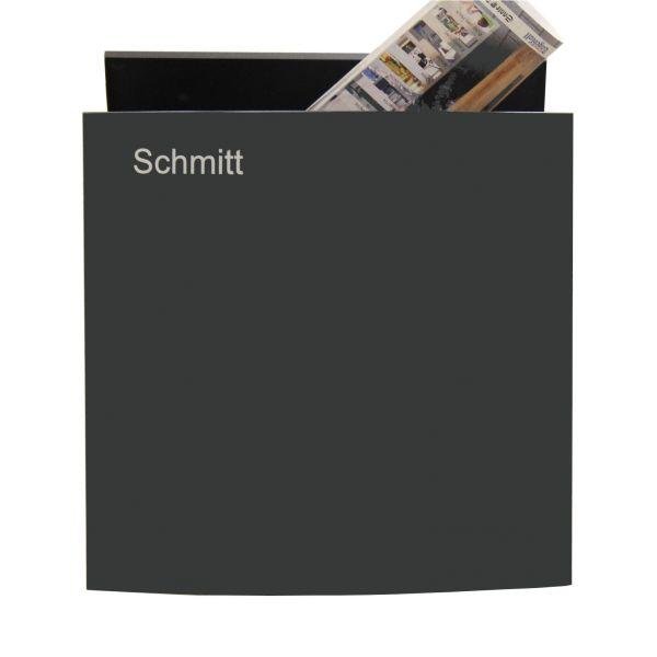 Design Briefkasten mit Gravur Name