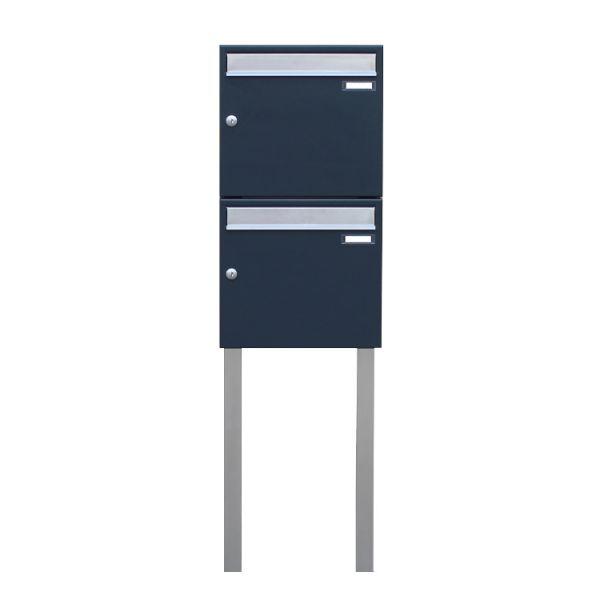 SD1 Doppel Briefkasten freistehend anthrazit