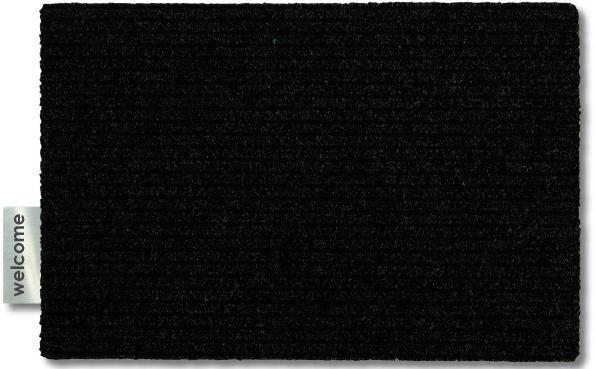 ARTIKEL DESIGN Fußmatte Label WELCOME Edelstahl