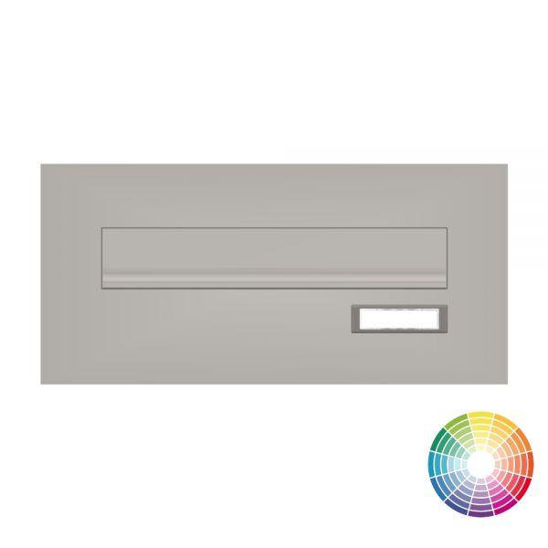 Frontplatte für Mauerdurchwurf Briefkästen