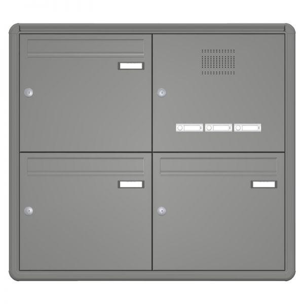 Aufputz Briefkastenanlage mit Sprechanlage RI220S
