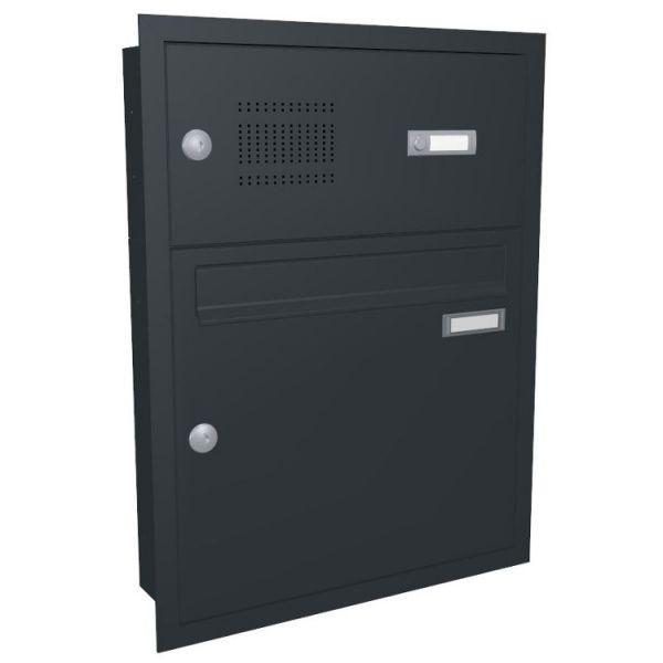 Unterputz Briefkasten mit Klingel UP21