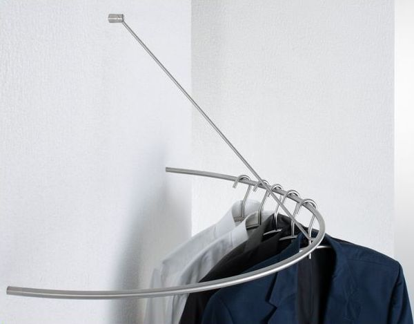 phos design wandgarderobe edelstahl g 80 hw schmitt smartes wohnen. Black Bedroom Furniture Sets. Home Design Ideas