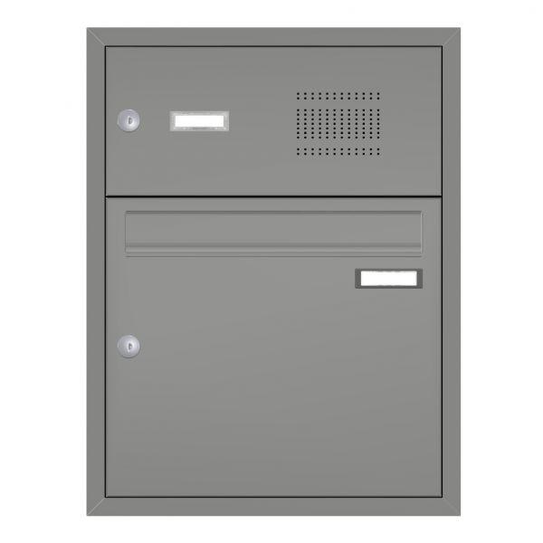 1er Unterputz Briefkasten mit Klingel UP21
