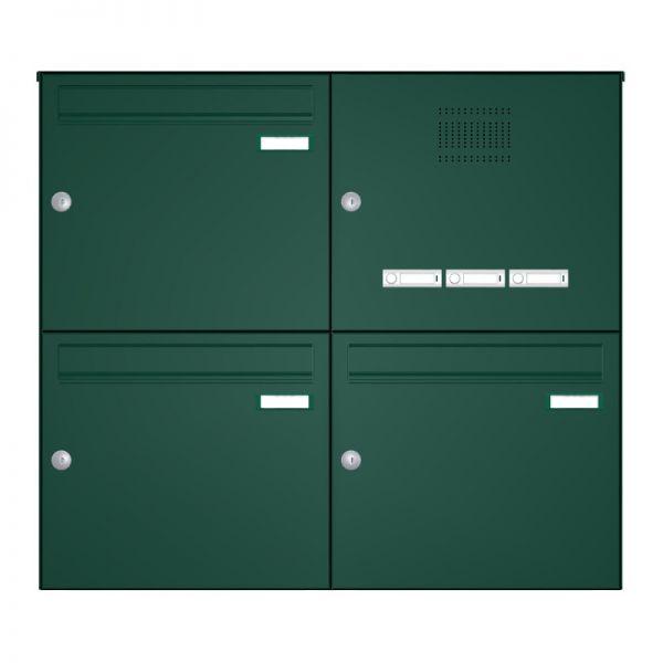 Aufputz Briefkastenanlage mit Klingel RI244S