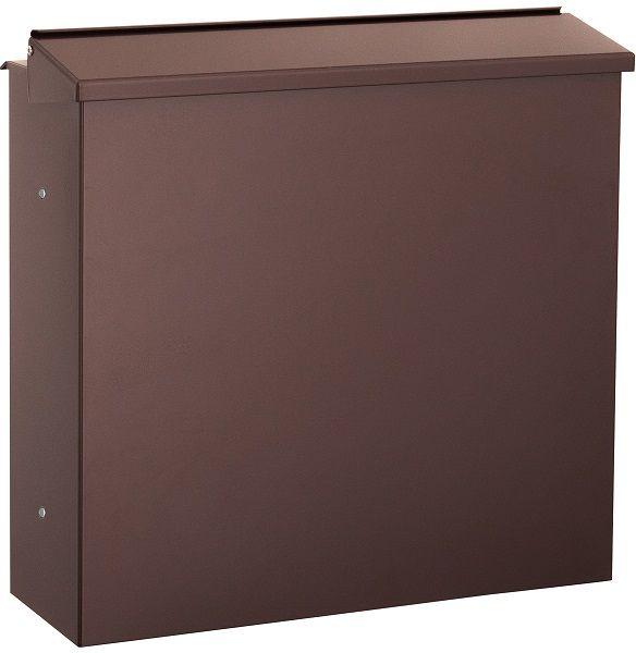 zaunbriefkasten braun entnahme hinten schmitt smartes wohnen. Black Bedroom Furniture Sets. Home Design Ideas